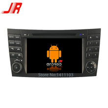 Quad Core Android 5.1.1 car audio  FOR BENZ E-CLASS W211(2002-2008) car dvd  player car multimedia car stereo head unit 1024*600
