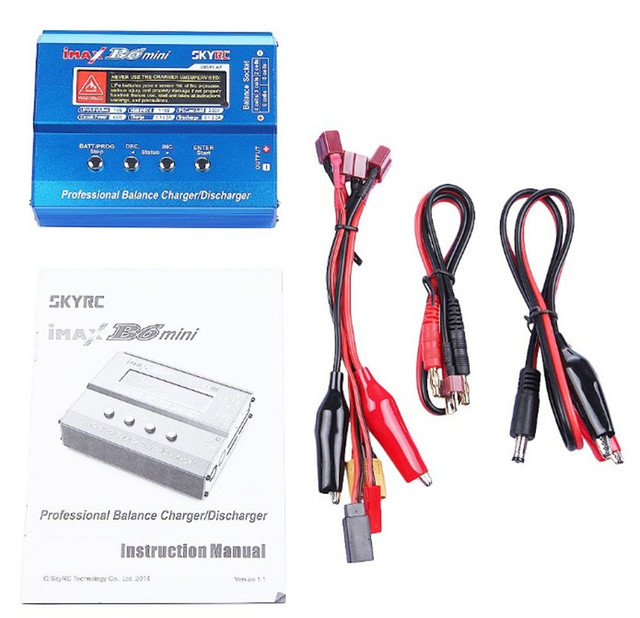 Imax B6 Mini Professional Battery Balance Charger Discharger Multi-function For RC Helicopter Drone SKYRC Original free shipping
