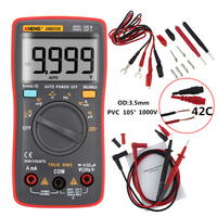 AN8008 True RMS Digital Multimeter 9999 Counts Square Wave Voltage Ammeter