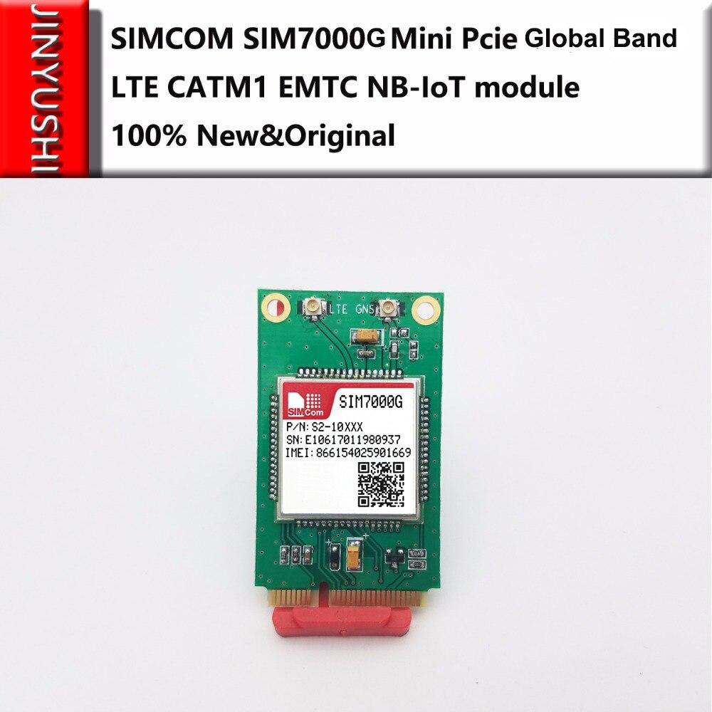 SIMCOM SIM7000G Mini Pcie 375kbps LTE CATM1 EMTC NB-IoT Global Band For SIM7000A And SIM7000E Competitive With SIM900/SIM800F
