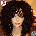 Lace Frontal Wig Full Lace Frontal Human Hair Wigs With Baby Hair Curly 8A Brazilian Virgin Hair For Black Women