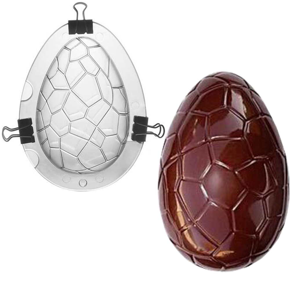 Polycarbonate Chocolate Mold Plastic Chocolate Molds Easter Egg Molde Chocolate Baking Kitchen Accessories Tools