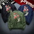 2016 Новый Рейс Куртка Равномерное Вышивка Призрак Рука Любителей Пальто Прилив Восстановление Древних Путей Тонкий Куртка