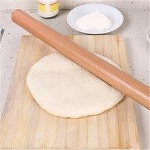2 размера кухонная деревянная Скалка кухонные инструменты для приготовления пищи инструменты для выпечки Аксессуары для выпечки помадка торт украшение тесто ролик