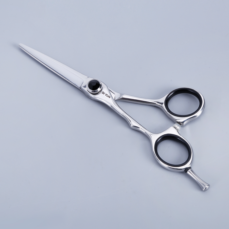 SI YUN 5.5inch(15.50cm) length LZ55 model left-handed shear,professional hairdressing scissors