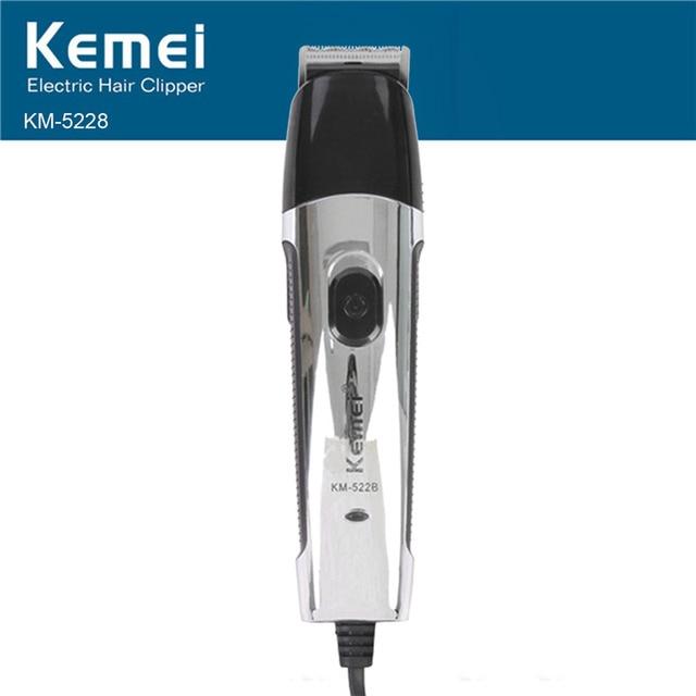 Kemei Electric 2 IN 1 Nose Trimmer Hair Clipper Trimmer Shaver Razor Salon Clipper for Men KM-522B