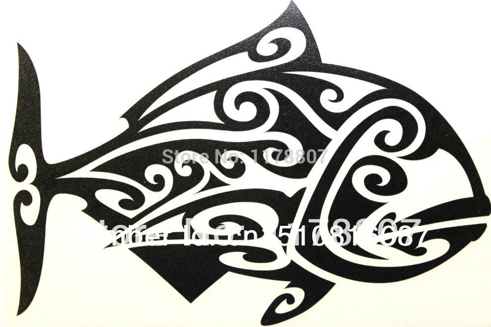 Compare Prices On Tribal Fish Decal Online ShoppingBuy Low Price - Vinyl fish decals for boats