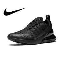 half off 8bceb c07c6 Original nuevo Nike Air Max 270 hombres zapatillas transpirables auténticos  zapatos cómodos deportes al aire libre