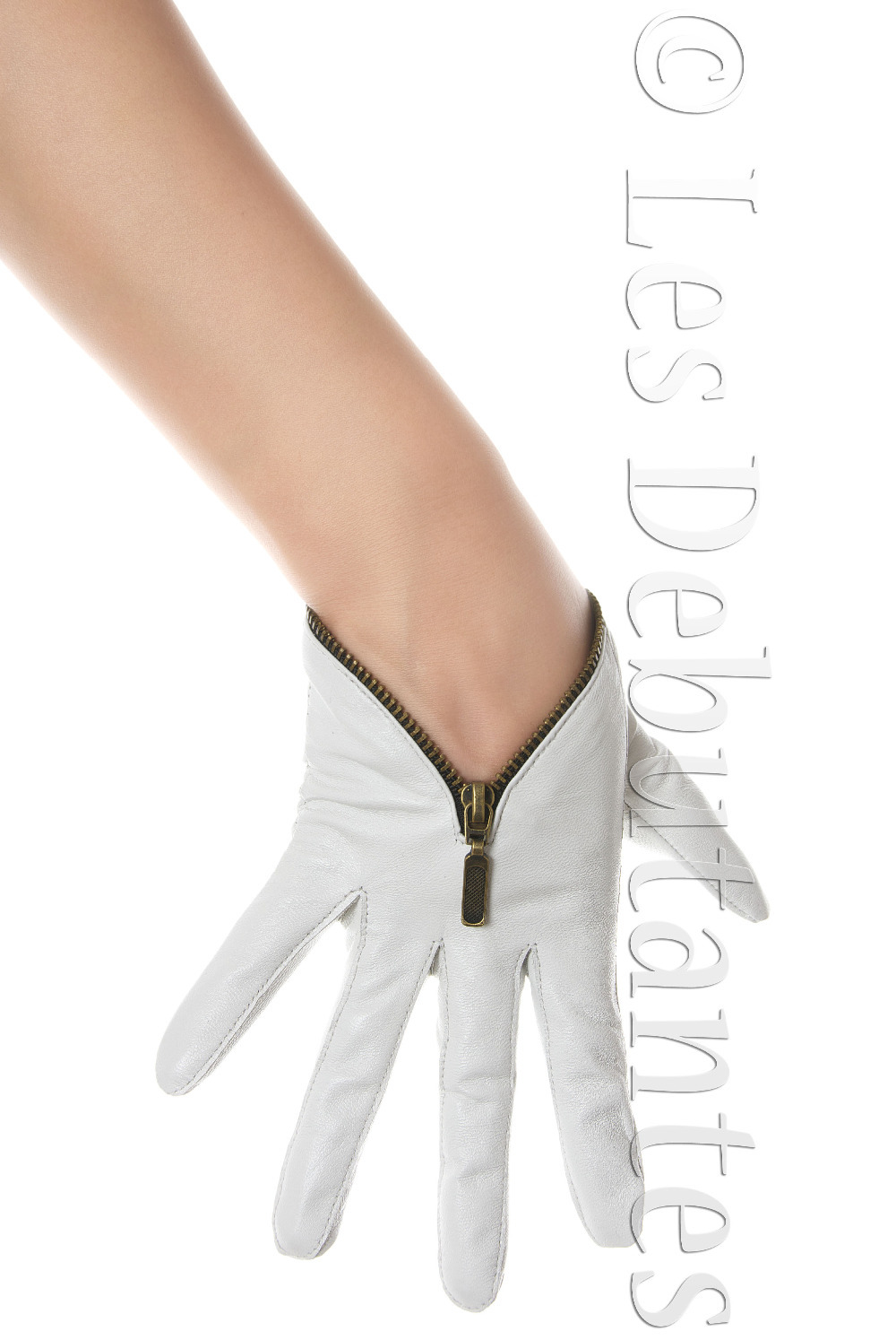 Leather driving gloves with zipper - Aliexpress Com Buy Women S White Leather Zip Driving Gloves Zipper Biker Free Shipping From Reliable Glove Suppliers On Online Store 120562