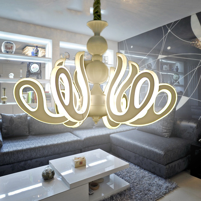 Modern led kitchen dining room pendant lights suspension Fixtures luminaire moderne 3 Circle Rings pendant lamp Hanging Lighting