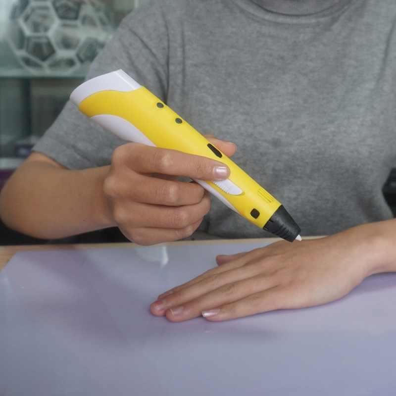 DEWANG 3d הדפסת עט Lapiz 3d קסם ציור עט עבור DIY עבודת יד צעצועי 1.75mm ABS PLA PCL נימה 3 d עט פלסטיק ידיות