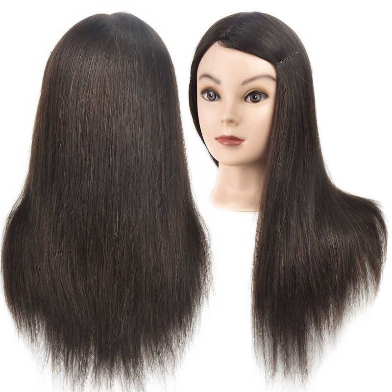 Best Sell Female 18 Cosmetology Mannequin Head Human Hair