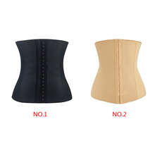 Women Sexy Breathable cotton Boned Waist Shaper Raise chest corset Corset Slim