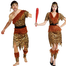 9ce886790768 Original Indian Savage Costume Couple Men Women Wild Men Cosplay Carnival  Party sexy halloween costumes for