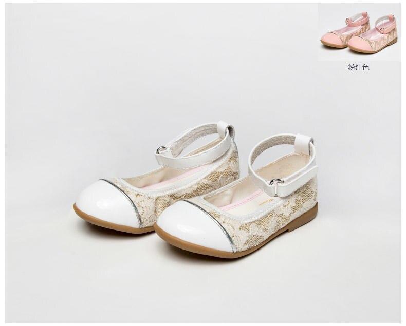 2018 NEW Children Shoes Kids Soft Shoes Summer Leather Orthopedic girl Sandals flower