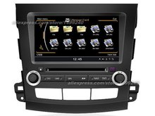 For Mitsubishi Outlander 2006~2012 – Car GPS Navigation DVD Player Radio Stereo TV BT iPod WIFI Multimedia System