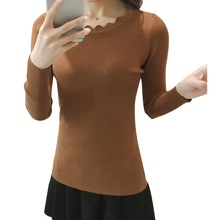 Autumn Winter Women Knitted Sweaters And Pullovers lacework