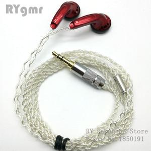 Image 5 - RY4S המקורי ב אוזן אוזניות 15mm מוסיקה באיכות צליל HIFI אוזניות (MX500 סגנון אוזניות) 3.5mm L כיפוף hifi כבל