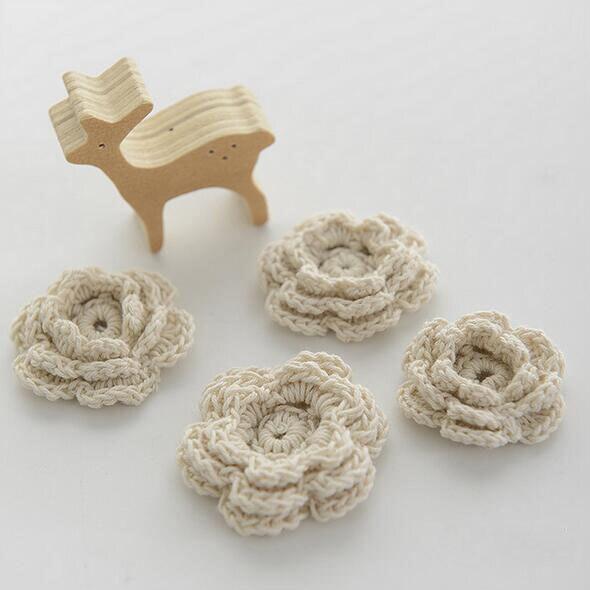 Compra small crochet flower y disfruta del envío gratuito en ...