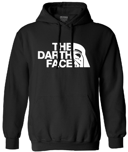 2017 new autumn winter fashion The Darth Face brand-clothing man drake fleece funny hoodies men sweatshirt harajuku male hooded