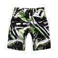 2016 New Arrival Meninos Verão Quick Dry Calções de Design Da Marca de Estilo Europeu Crianças Camuflagem Surf Beach Shorts para Os Meninos, C001