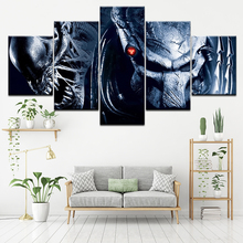 Canvas Painting Alien vs. Predator 2: Requiem 5 Pieces Wall Art Modular Wallpapers Poster Print living room Home Decor