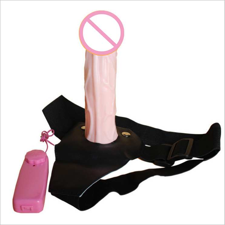 Wearable Vibrating Penis <font><b>Adult</b></font> <font><b>Sex</b></font> <font><b>Toys</b></font> Silicone Lesbian <font><b>Strap</b></font> <font><b>On</b></font> Harness Vibrator Dildo <font><b>For</b></font> Couples Hollow Design <font><b>Men</b></font> image