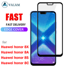 цена на Tempered Glass For Huawei honor 8X 8A 8C 8S Protective Glass For honor 8X 8A 8C 8S Screen Protecto Full Cover honor 8X 8S glass