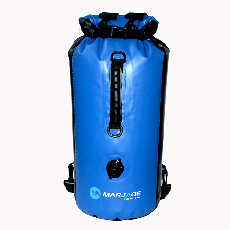 30L Inflatable Outdoor Waterproof Dry Bag Sack Storage Bag Rafting Sports Kayaking Canoeing Swimming Bags Travel Kits Backpack 20l 30l river trekking bags waterproof surfing swimming storage dry sack bag pvc pouch boating kayaking canoeing floating