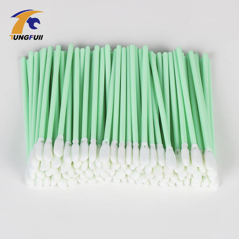 100pcs Inkjet Printhead Cleaning Stick Roland Mimaki Mutoh cleaning swabs Foam tip Format Printer Printhead Cleaning Spare Parts inkjet parts roland printer thk ssr 15xw model metal slider block for roland vp540i xj540 xj640 xj740 sj540 sj640 sj740 ra640