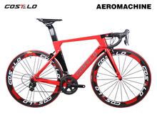 New Technology Costelo Aeromachine monocoque one piece mould road bicycle carbon bike complete bicycle completo bicicletta