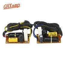 GHXAMP 40 watt 2 Weg Crossover Hochtöner Bass Lautsprecher 3,2 khz Zwei weg teiler Für 4 5,5 zoll Bücherregal lautsprecher Frequenz teiler 2 stücke