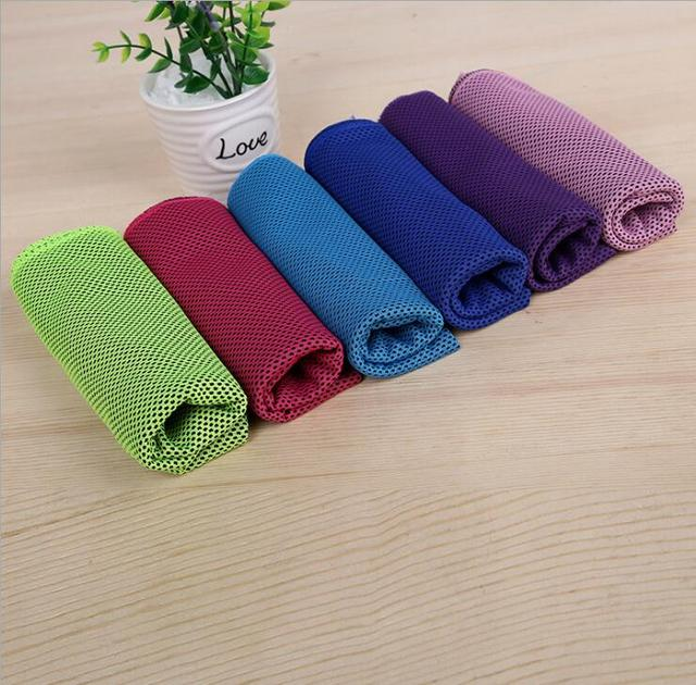 33cm*88cm Microfiber Fabric Outdoor Sport Towel Bath Towels Fitness Hip-hop Yoga Swimming Travel Gym Towel With Bag
