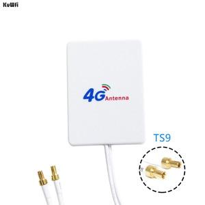 Image 4 - KuWFi 4G هوائي 3M كابل LTE هوائي الهوائيات الخارجية لهواوي ZTE 4G LTE راوتر مودم الجوي مع TS9/ CRC9/ SMA موصل