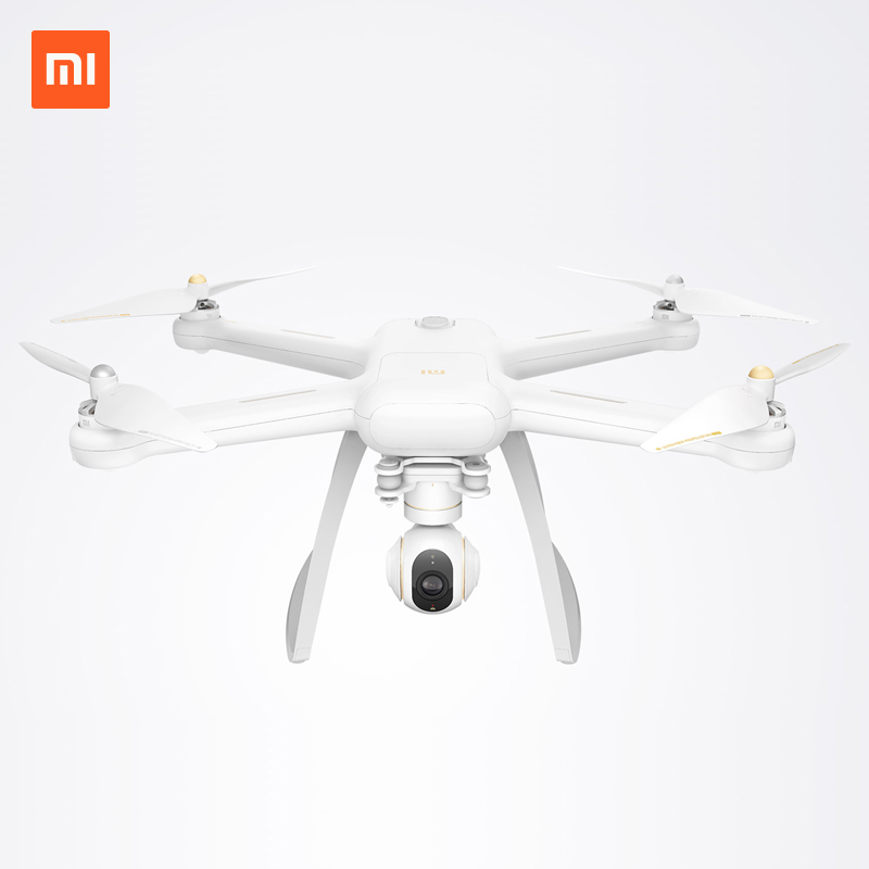 Xiaomi Mi Drone Wifi FPV With 4K/1080P Camera 3-Axis Gimbal RC Quadcopter 2016 new  xiaomi mi drone wifi fpv with 1080p rc quadcopter spare part blade 4pcs propeller protection 2017 new