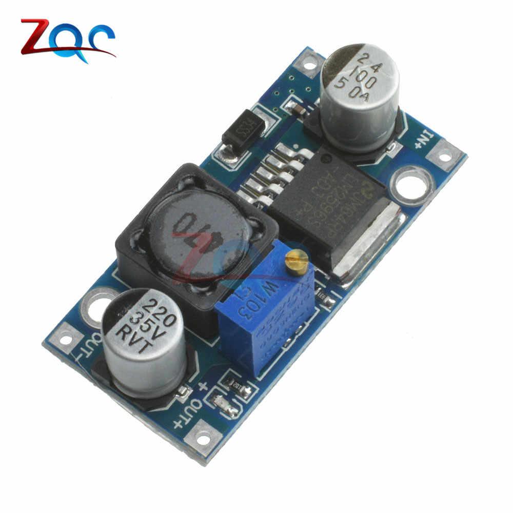 LM2596s Step понижающий модуль питания 3A Регулируемый модуль LM2596 регулятор напряжения 24 в 12 В 5 в 3 в 4,0-40 до 1,3-37 в