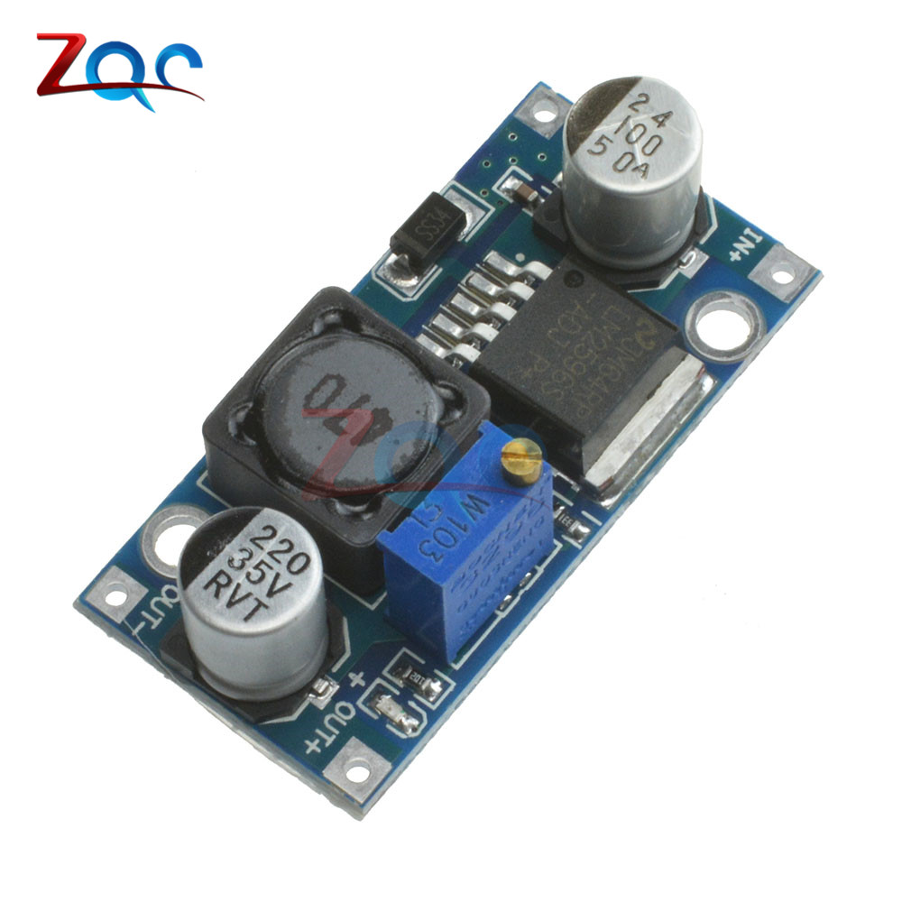 все цены на NEW DC-DC Adjustable Power Step-down Module Blue LM2596 Non-isolated Step-Down Module онлайн