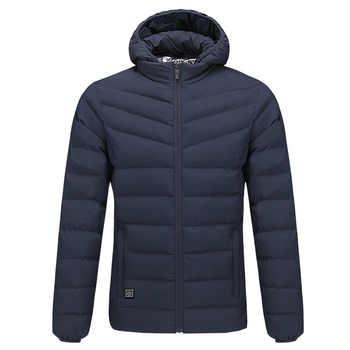 PureLeisure Winter USB Charging Heated Fishing Jackets Men Warm Heating Jackets Smart Thermostat Sports Hunting Skiing Coats