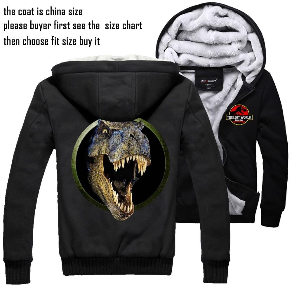 Men's Clothing Ingenious Jurassic Park Sweatshirt Men Women Pullover Fleece Jacket Jurassic World The Dinosaur Hoodie Unisex Jumper Casaco Feminino