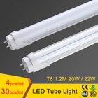 T8 led tube light 1200mm 20w 22w 4ft, smd2835 led fluorescent tube 110v 220v, FEDEX Free Shipping led tube t8