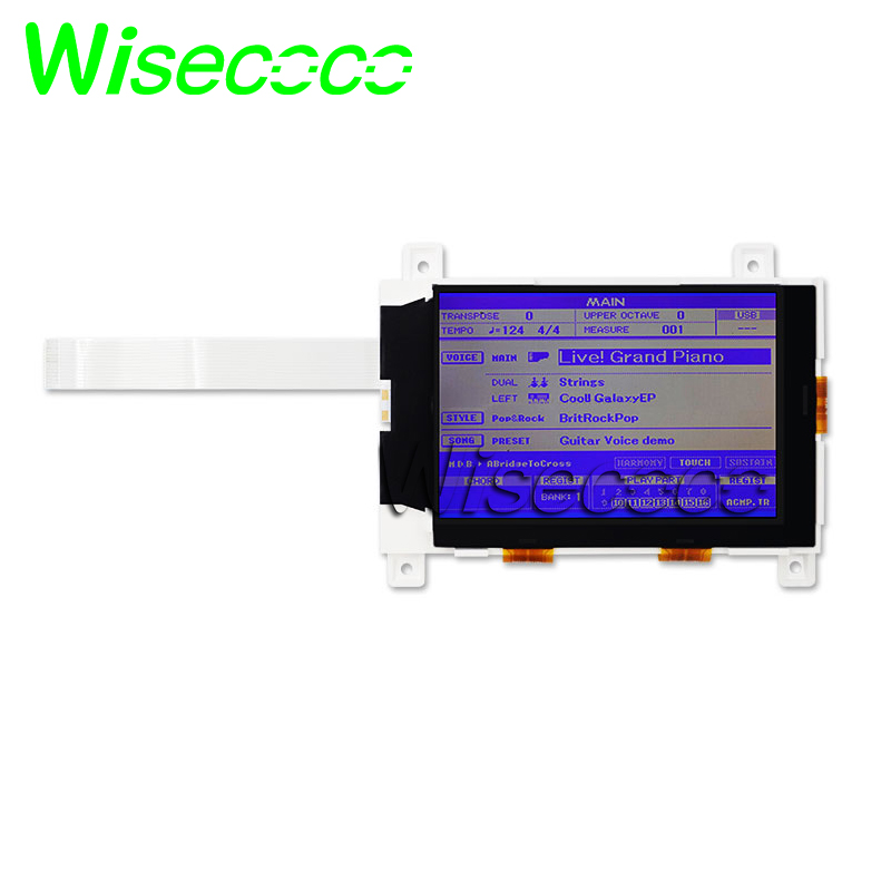 New Original For YAMAHA DGX-620 DGX620 DGX630 DGX640 LCD Screen Display Module Repair Replacement PSR S500 S550 S650 Mm6