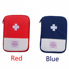 Portable Mini First Aid Kit Bag Outdoor Travel Medicine Package Emergency Kit Bags Small Medicine Divider Storage Organizer