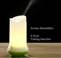 LED Light Ultrasonic Aroma Humidifier Air Diffuser Purifier Atomizer For Home 4 Gear Timing