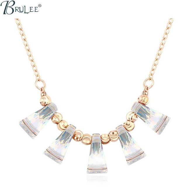 2017 New Fashion Crystal From Swarovski Necklace Water Drop luxury Selling Classic pendants women Wedding  jewelry Wholesale