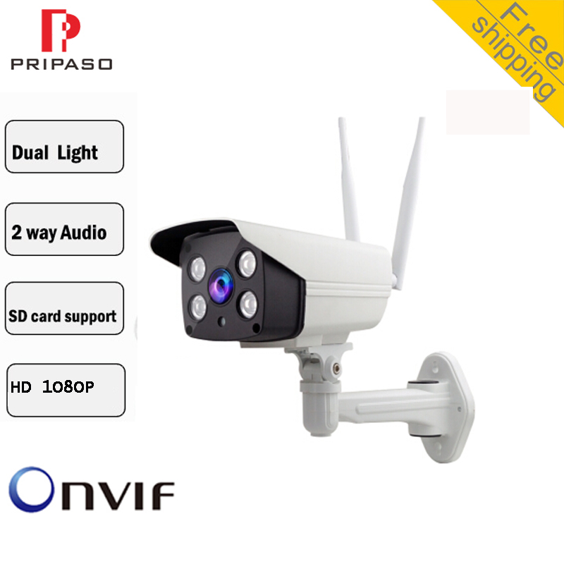 1080P Dual Light Source WIFI IP Camera 2MP Two Way Audio Full Color Night vision Outdoor Waterproof CCTV Camera      1080P Dual Light Source WIFI IP Camera 2MP Two Way Audio Full Color Night vision Outdoor Waterproof CCTV Camera