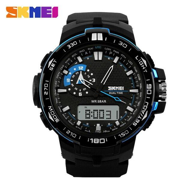 Fashion Casual Men Military Watch Digital Sports Watches Relogio Masculino Relojes de Marca Quartz Famous Brand Dive Wristwatch