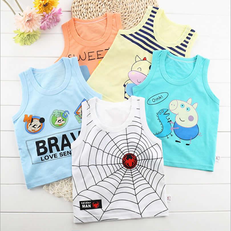 Shirt-Baby-Blouses-Kids-Vest-Sleeveless-t-shirt-Boys-new-Toddler-Shirts-Cool-Pig-Print-Cotton-Cartoon-Children-s-single-Shirt-3
