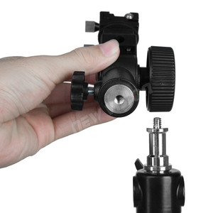 Image 5 - GODOX Type D Flash Hot Shoe Umbrella Holder Mount Bracket for Speedlite