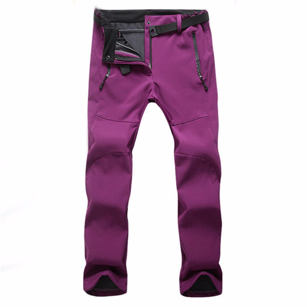 Prix pour Femmes D'hiver Sports de Plein Air Escalade Pantalon Imperméable Sportings Coupe-Vent Randonnée Montagne Escalade Thermique Pantalon Pantalones