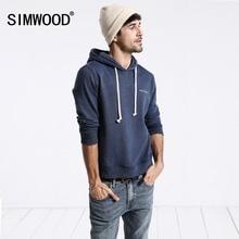 SIMWOOD 2018 Men Hoodies New Autumn Fashion sweatshirt Male Casual moletom masculino Slim Fit Plus Size Tracksuit WT017002